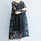 原創歐根紗二件式洋裝