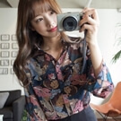 ♥韓國不規則幾何超美雪紡襯衫