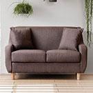 加藤二人座獨立筒布沙發三色可選超舒適坐感