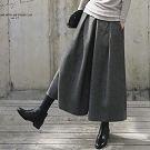 正韓 超美版型打褶褲九分褲
