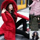 韓國加厚保暖防風羽絨棉襖