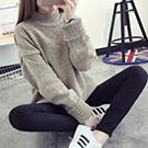 厚款長袖針織毛衣