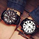 大錶面浮雕數字對錶
