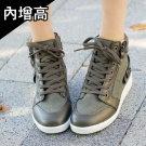 韓國人氣綁帶內增高鞋