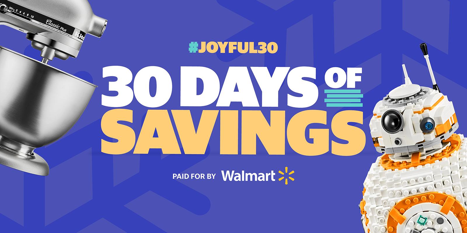 30 Days of Savings