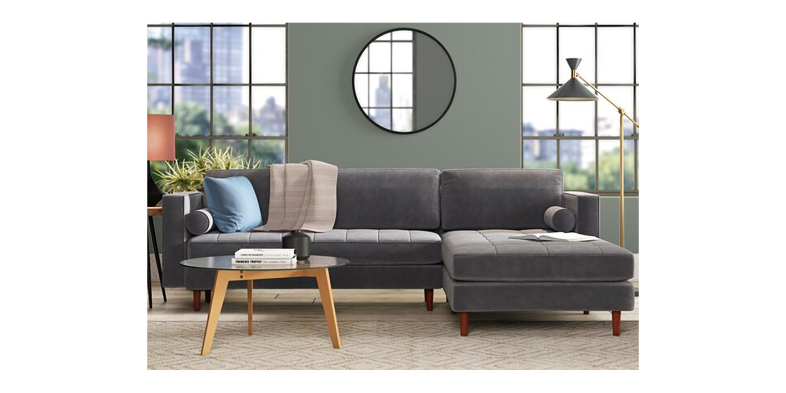 Save on a sectional from AllModern