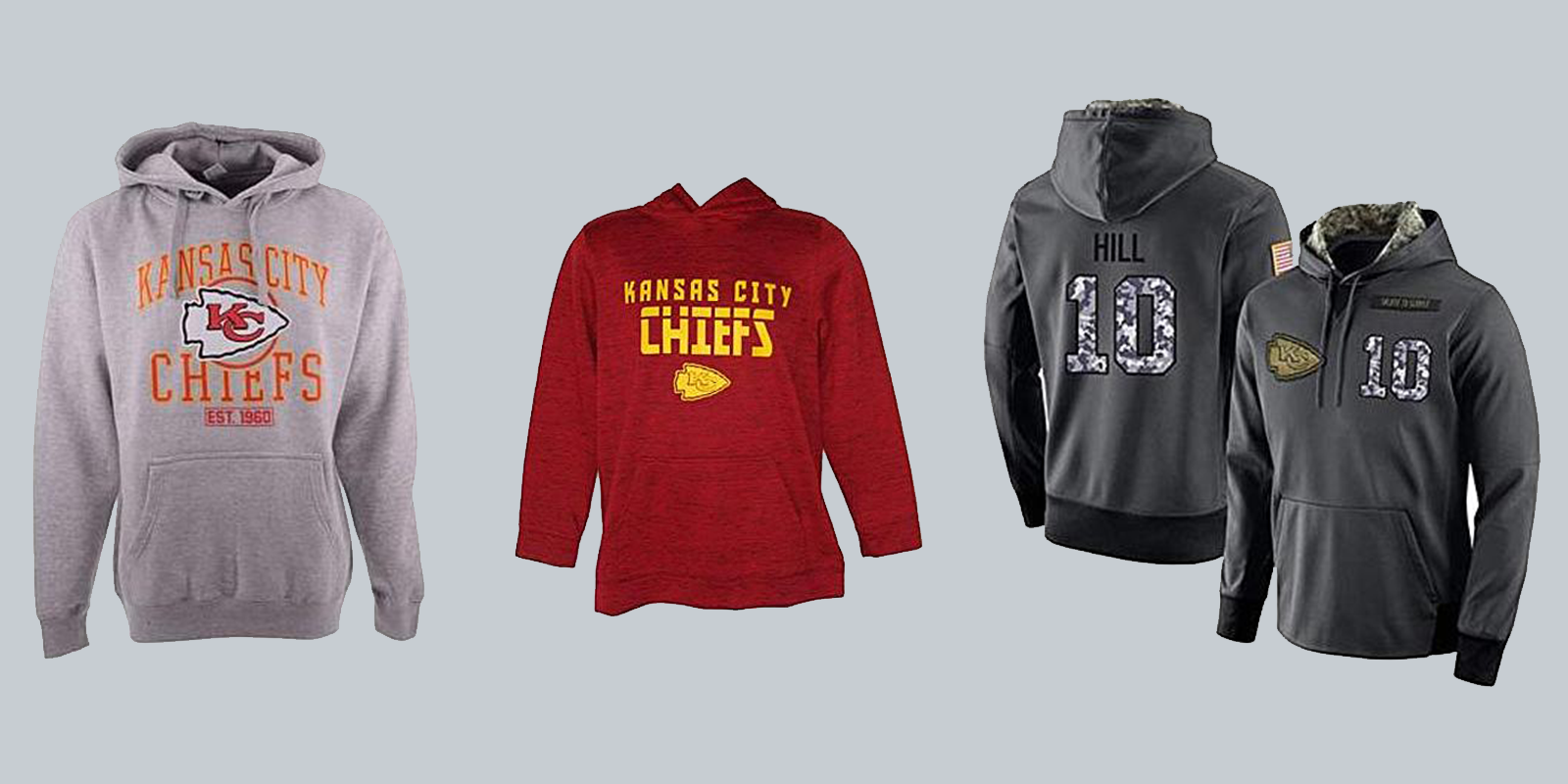 Stock up on Chiefs apparel now