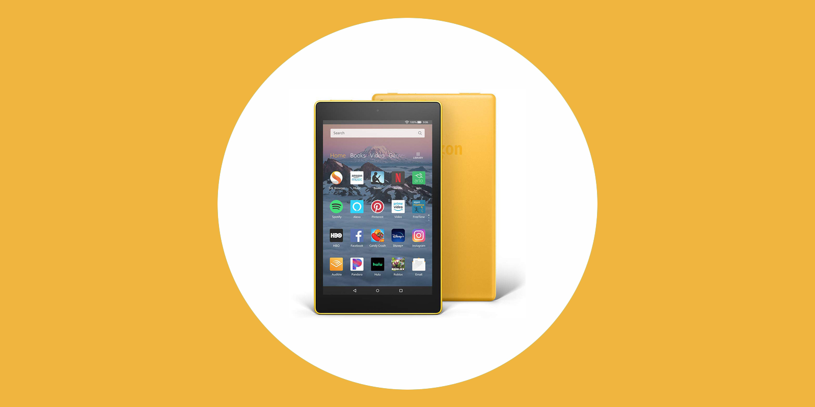 Get a discounted Fire tablet on Amazon
