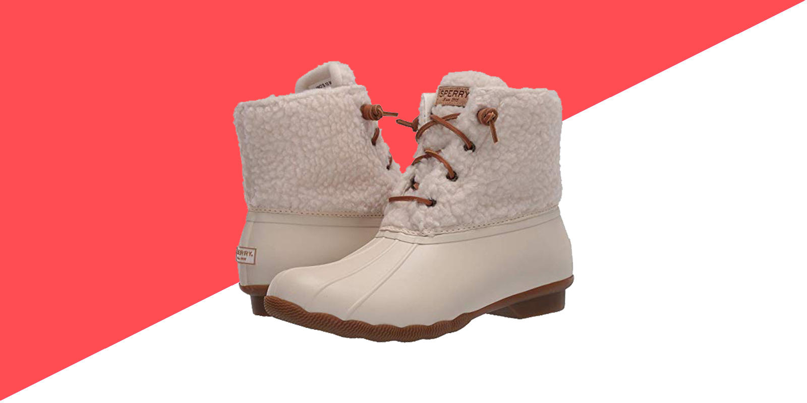 Stay warm in these Sperry snowboots