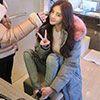 ◆ 100%韓國空運 ◆ 雪地適用防潑水設計不透風 ◆ 男友可穿(男生需帶大一碼)
