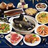 豬年諸事如意吃了一整年都順順利利 蒲燒鰻魚以及喜慶的櫻花蝦米糕 最受歡迎開胃菜醉蝦和彭派的豬肋排