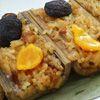 濃香芋泥搭配竹筒米糕 宴客、辦桌都澎派 嚴選食材承古法製作而成 最好吃的竹筒米糕在這裡