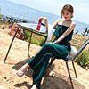 ◆ 顏色 / 黑色、白色、綠色 ◆ 俐落造型平口露肩連身褲裝✨