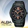 .機芯編號:VJ42-X028 HC .防水50米 .鍍黑不鏽鋼錶殼錶帶