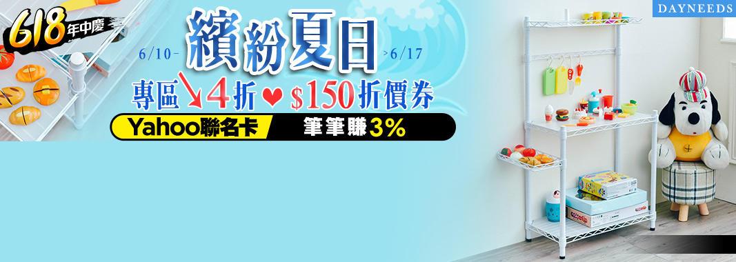 dayneeds 4折起+150折價券