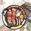 烤肉必備 新一代烤肉神器多格設計6格烤盤可烤肉、烘蛋、烤起司、泡菜、蒜露營、戶外烤肉超方便