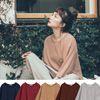 可愛童趣感條紋加上大地配色充滿秋日氣息寬松自在版型穿氣來特別可愛