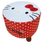 Hello Kitty 絨毛三腳凳