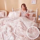 床包 / 雙人【莓樂兔】含兩件枕套 60