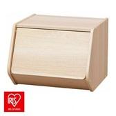 日本 IRIS 木質可掀門堆疊櫃