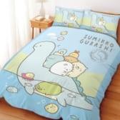 台製床包雙人【角落小夥伴 恐龍世紀】