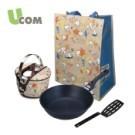 熱銷品項套組 -不沾鍋:居家料理,煎炒耐用 -防溢提鍋:外帶外食,防燙防溢,當湯鍋、內鍋都好用