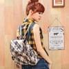 金安德森經典格紋布 蘇格蘭風流蘇設計 學院感UP亮眼單品