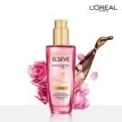第一支添加珍貴玫瑰精華護髮產品5效合1 - 高保濕、高修護、高護色、高光澤、高香氛