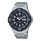 .三折式不鏽鋼錶帶 .旋轉錶圈 .計時錶圈 .樹脂玻璃