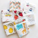 口水巾嬰幼兒六層紗布方巾口水巾 AIB小舖