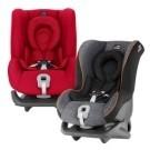 三點式安全帶車輛適用。 前後向安裝。 新生兒保護墊。 上固定帶加強防護。