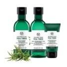 ● 藉含肯亞天然純淨的茶樹精油、檸檬茶樹精油、瓊崖海棠油等天然淨膚成份
