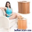 首創電動腳底按摩.桑拿按摩一次滿足 免加水更安全.躺著坐著都能用 天然木材質.享受如森林浴芳療
