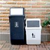 ★簡約黑白色調 ★多功能垃圾分類桶 ★物品隔離減少異味