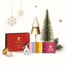 聖誕限定禮盒 限時限量販售 售完即止 6款無咖啡因茶包+UNT山茶花指緣油