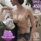 無鋼圈內衣 女性衣著 開運 A罩杯小胸救星蕾絲  爆乳集中2cm厚墊 【8102】AE1278102