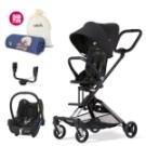 ◆創新-超方便360度一鍵換向 ◆多變-可選擇新生兒提籃結合