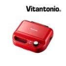 Vitantonio多功能計時鬆餅機,50B(熱情紅),Vitantonio鬆餅機鯛魚燒烤盤...
