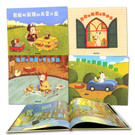 此套圖畫書是日本插畫家島田由佳創作繪本,處處可見作者的細膩用心,每頁插畫皆讓人翻了再翻...