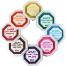 ◆本產品投保新光產品責任險2000萬元  ◆清洗容易,不殘留  ◆建立孩子對色彩的認知