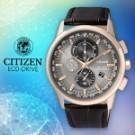 .不鏽鋼錶殼 .小牛皮錶帶 .藍寶石玻璃鏡面 .防水100米 .全球性電波時計