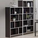 E1等級板材使用更安心,歐風時尚收納大容量書櫃,亦可當展示櫃與隔間櫃使用,板厚20mm,木板...