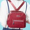輕量防潑水尼龍材質  專屬LOGO星型五金 多個功能性拉鍊口袋 柔軟休閒包型 / 悠遊城市酷玩風格!