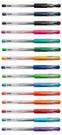 ◆針頭式0.38筆尖,共有15色  ◆墨水防水耐光性佳  ◆針頭式筆尖是車削一體成型,書寫更穩定