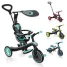 ◆安全座椅、5點式安全帶 ◆2個後剎車系統,讓3輪車使用起來更安全 ◆可拆式遮陽棚