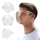 透明全臉護目鏡(蘋果太空面罩)