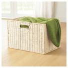 ●色彩鮮明活潑的編織收納籃,為居家空間增添趣味 ●恰好可搭配宜得利彩色櫃的尺寸設