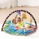 鮮豔圖樣讓孩子遊玩探索 隨著年齡不同有各種對應功能 柔軟布質呵護寶寶肌膚 悅耳的音樂促進聽覺發展