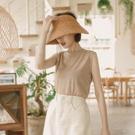 韓國選品系列 百搭素面的款式 舒服的棉料材質很好穿 單穿或外加背心洋裝或外套 層次穿搭有造型好看