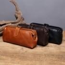 復古醫生包變行版~可當筆袋化妝包使用~當錢包也行多功能收衲包